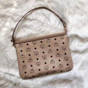 MCM Pouch Clutch Shoulder Bag